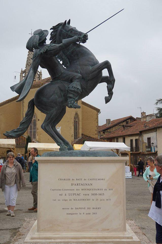 Lancement de la route d'Artagnan 082015